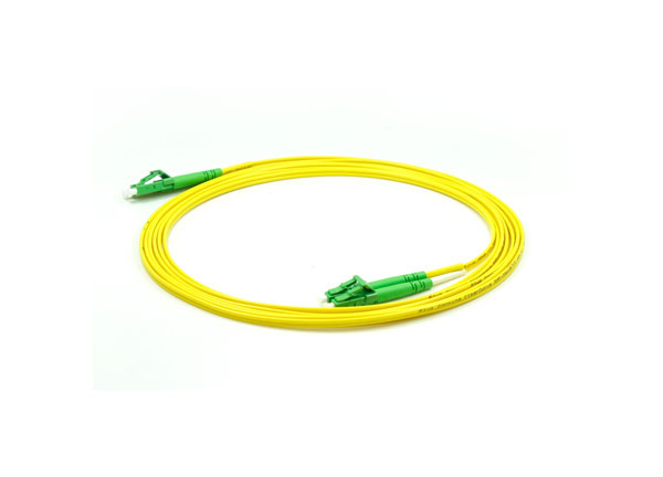 OS2 LC/APC - LC/APC Fiber Optic Patch cable G657a2 Bend-insensitive 2.0mm Yellow