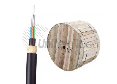 ADSS 24 Fibers Non-metal Stranded Luse Tube Fiber Optic Cable Span 100m Double Jacket