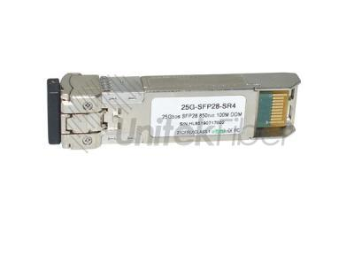 High Reliability SFP28 25G Optic Module Multimode 850nm 100m Dual LC Ports