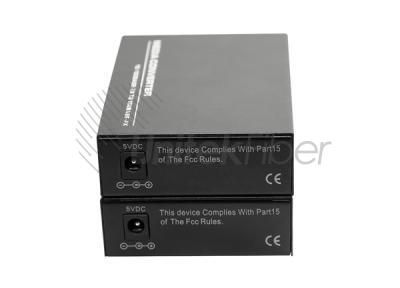 10/100M RJ45 to Fiber Port Media Converter Single Mode Simplex