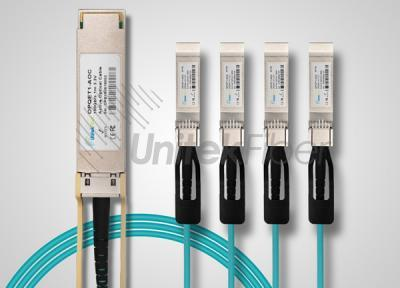25G SFP28 AOC Active Optical Cable OM3 3mts 25G AOC Cable for 5G Database