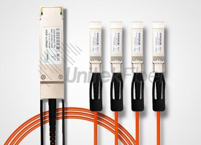 Active Optical Cable (AOC) 40G QSFP to 4x10G SFP+ AOC Breakout 10m
