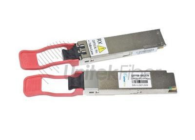 100G QSFP28 ER4 Optical Transceiver 40km 1310nm Compatible With Alcatel-Lucent Nokia