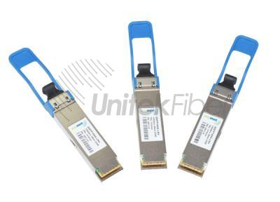 Manufacturer 100G QSFP28 LR4 Optic Transceiver with LC Connector 1310nm 25Km
