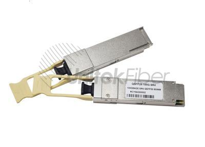 Manufacturer QSFP28 100G Optical Transceiver for Ethernet and Data Center 850nm 100m