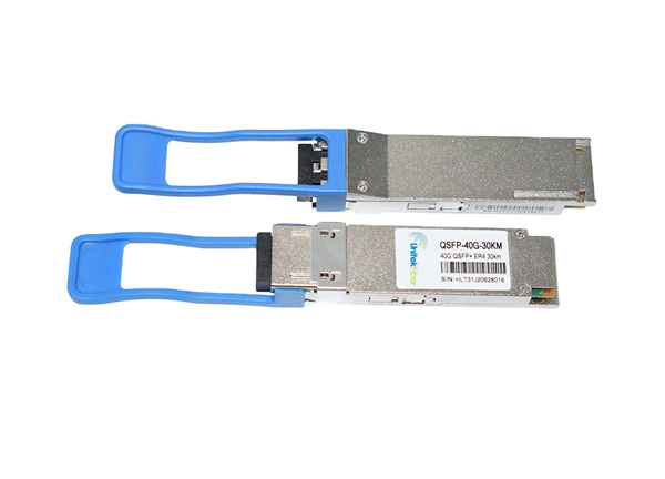 40G QSFP+ Optical Transceiver 1310nm 30km Compatible With HuaWei Network Equipment