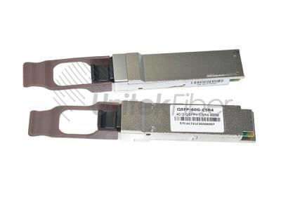 High Speed 40G QSFP+ CSR4 Optic Transceiver Low Consumption MMF 850nm 400M OM4