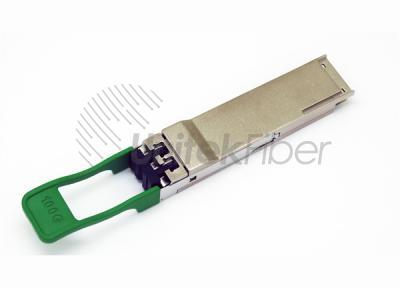 QSFP28 100G Optical Transceiver with Duplex LC Connector Up to 2KM 850nm 1310nm