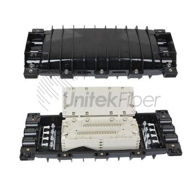 3 In 3 Out 6ports Inline Fiber Optic Splice Closure 288cores